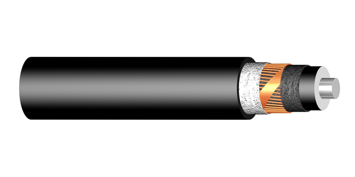 Image of XLPE Al single core 38/66 kV cable