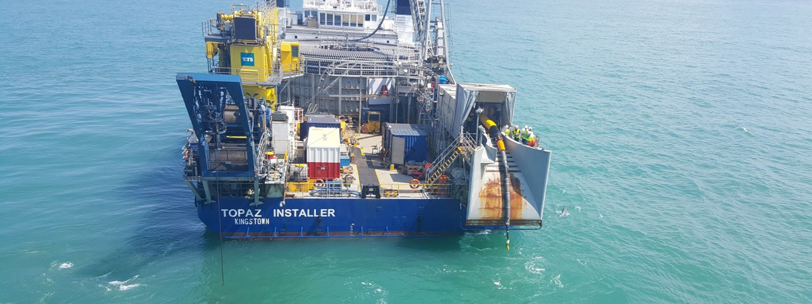 HV Offshore Horns Rev 3 project cable laying