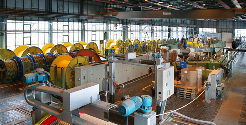 Cable production site