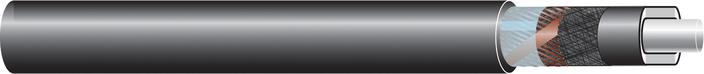 Image of 33kV single core cable XLPE-AL-RE-FB, AL screen cable